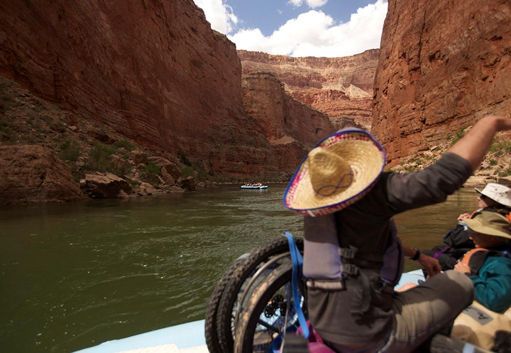adaptive river trip