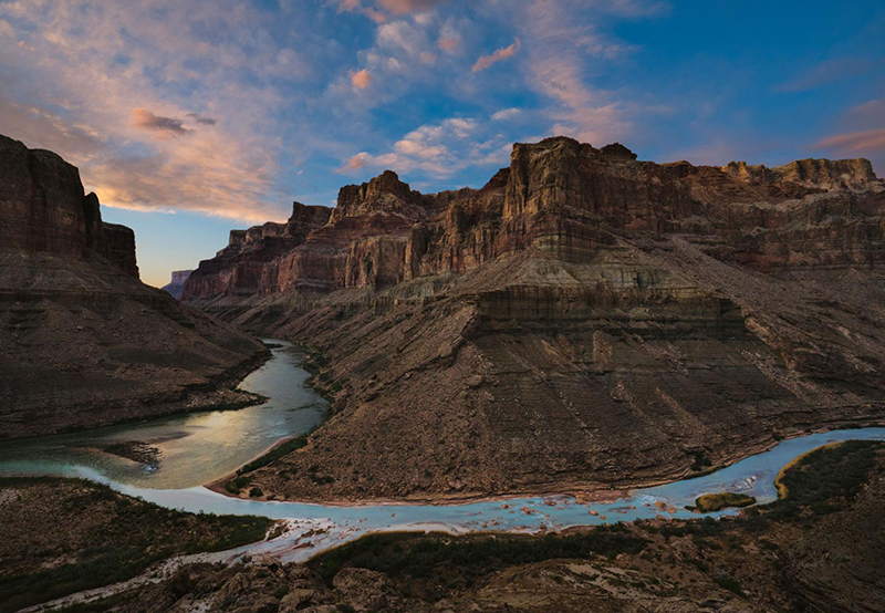 confluence of little colorado and colorado river