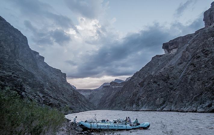 colorado river boat