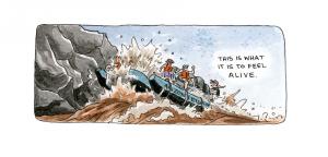 Grand Canyon cartoon